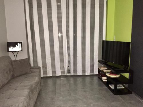 A seating area at Apartment Eden