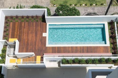 The swimming pool at or near Pure Kirra