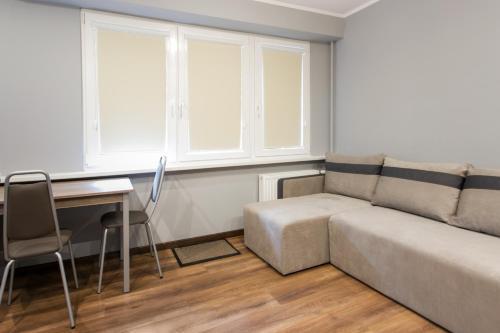 A seating area at Apartament dla Ciebie 2
