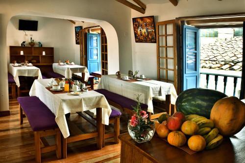 Restaurant ou autre lieu de restauration dans l'établissement Amaru Colonial
