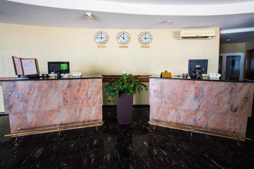 Лобби или стойка регистрации в Парк Отель Анапа