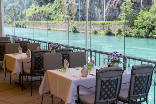 A restaurant or other place to eat at Lindner Grand Hotel Beau Rivage