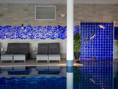 The swimming pool at or near Kosta Boda Art Hotel