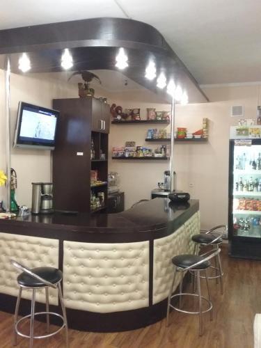 Лаундж или бар в Мини-Отель Грааль