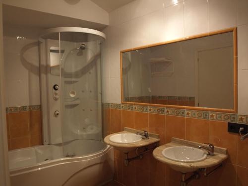 Un baño de Hotel Lastres Miramar