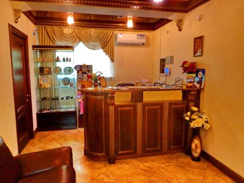 Лобби или стойка регистрации в Hotel Guberniya