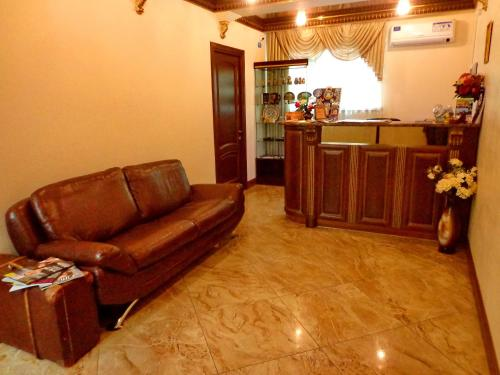 Кухня или мини-кухня в Hotel Guberniya