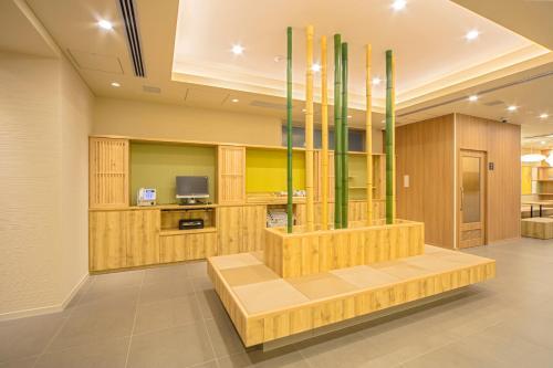 京都四條鳥丸索特圖斯弗雷撒酒店大廳或接待區