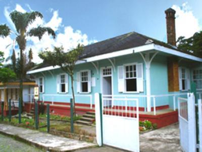 O edifício em que a pousada se localiza