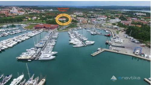 A bird's-eye view of Apartments Nautica