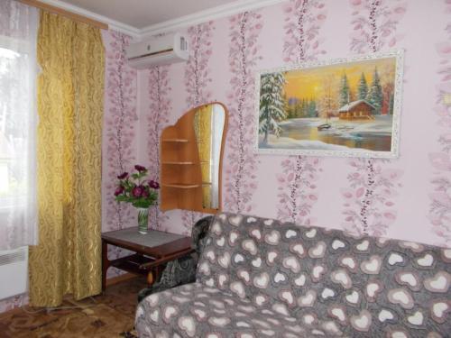Гостиная зона в Apartment on Parallelnaya