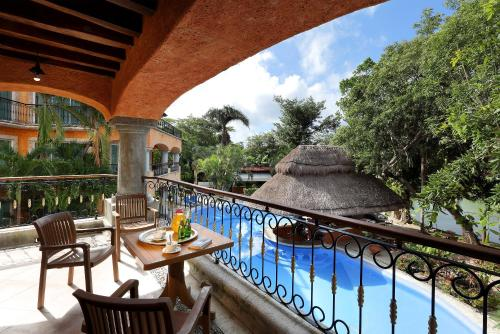 The swimming pool at or near Eurostars Hacienda Vista Real