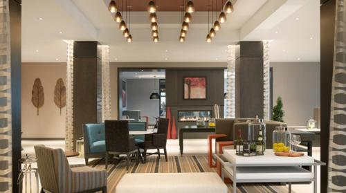 A restaurant or other place to eat at Hilton Garden Inn Rochester University