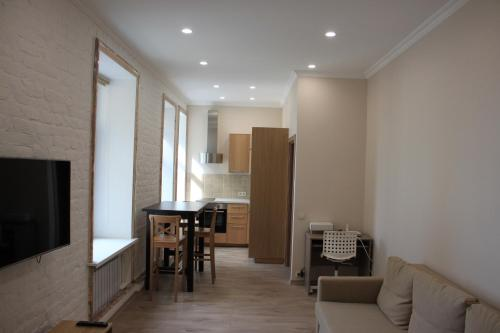 Гостиная зона в Apartment on Malaya Morskaya 19