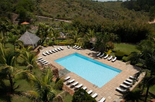 A view of the pool at Spa Recanto or nearby