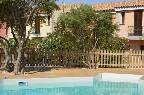 The swimming pool at or near Residence Costa Del Turchese