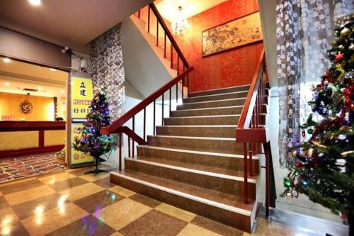 立建旅館大廳或接待區