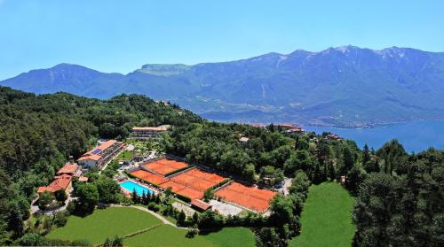 A bird's-eye view of Hotel Residence Campi