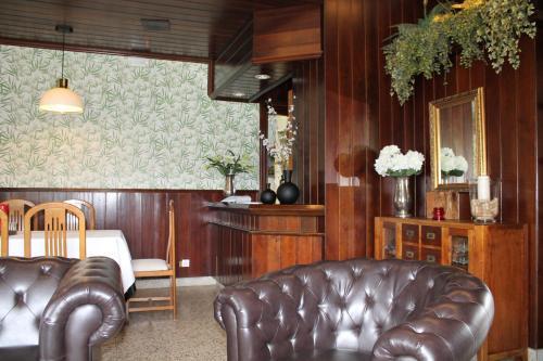 El vestíbulo o zona de recepción de Hotel Montero