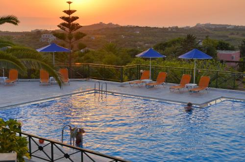 The swimming pool at or near Aloni Suites