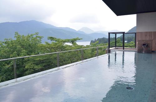 The swimming pool at or near Ryuguden