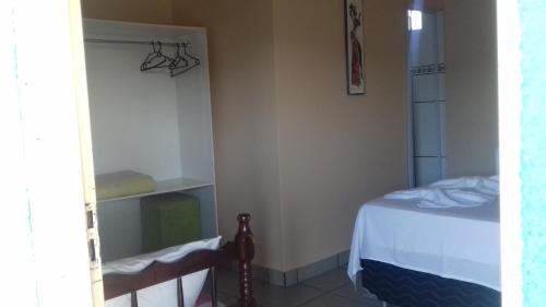 Cama o camas de una habitación en Pousada Reis