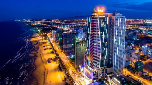 Tầm nhìn từ trên cao của Muong Thanh Luxury Da Nang Hotel