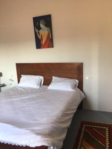 Cama o camas de una habitación en Villa Pilar