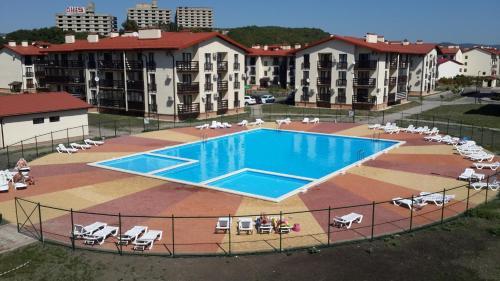 Бассейн в Апартаменты в Резиденции Утриш или поблизости