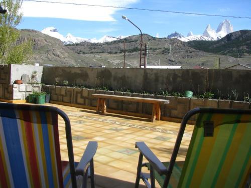 Un balcón o terraza en Patagonicus