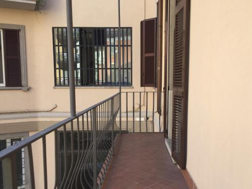 A balcony or terrace at Vip Bergamo Apartments