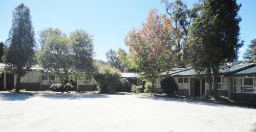 Mittagong Motel during the winter