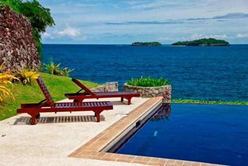 The swimming pool at or near Club Punta Fuego