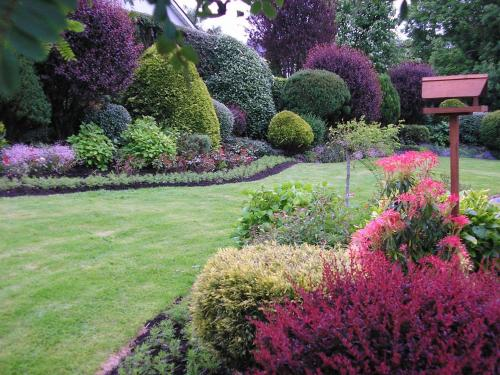 A garden outside Millhouse B&B