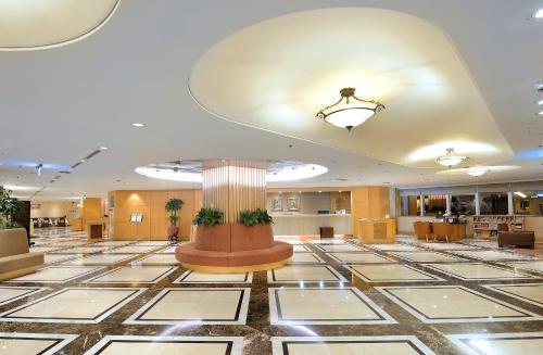 中壢米堤大飯店大廳或接待區