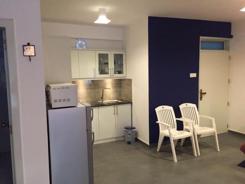 A kitchen or kitchenette at Mountain View Apartment