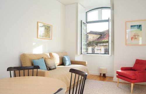 A seating area at Lisbon Serviced Apartments - Baixa Castelo