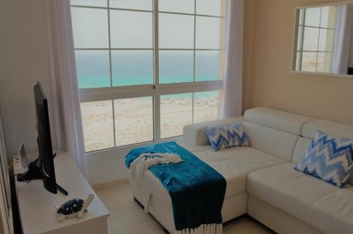 Cama o camas de una habitación en Apartamento Vista Esmeralda en PLAYA PARAISO
