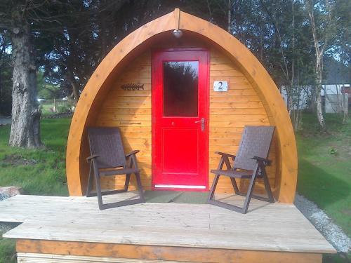 Dunvegan Camping Pods