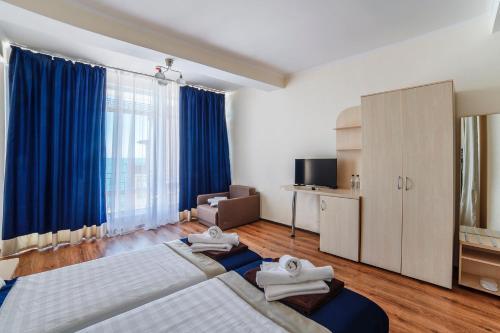 Кровать или кровати в номере Ravenna Mare