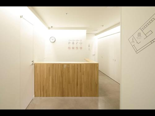 The lobby or reception area at nine hours woman Kanda