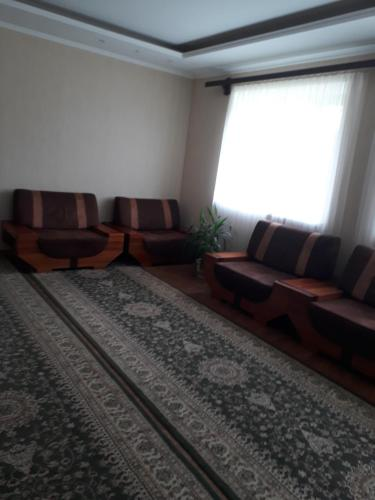 A seating area at Uyut