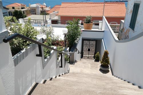 Ein Balkon oder eine Terrasse in der Unterkunft Quinta B.