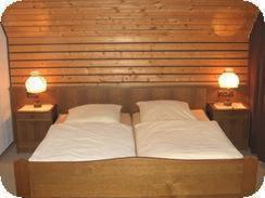 Ein Bett oder Betten in einem Zimmer der Unterkunft Haus Mönter-Meyer