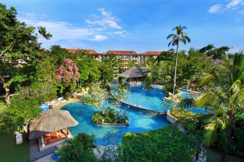Uitzicht op het zwembad bij Novotel Bali Nusa Dua of in de buurt