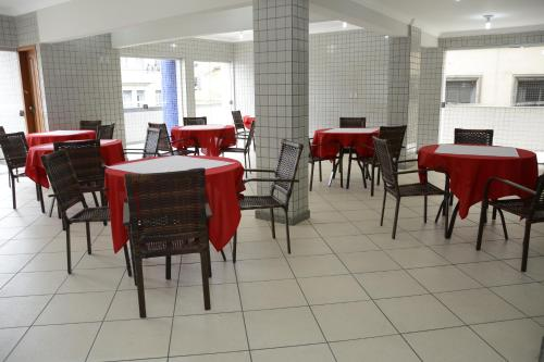 A restaurant or other place to eat at Focus Hotel