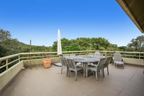 A balcony or terrace at 8/110 Lighthouse Rd - Byron Breeze