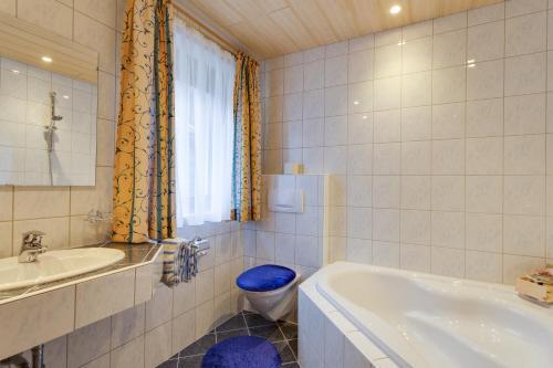 Ванная комната в Haus Berthold