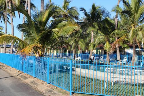 The swimming pool at or near Central Tourist Park