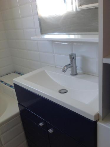 Salle de bains dans l'établissement Le Cap